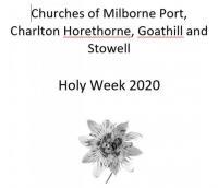 Prayers for Holy Week 2020