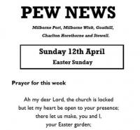 Pew News for Easter Sunday