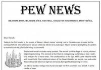 Pew News for 29 November 2020