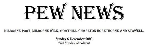 Pew News for 6 December 2020