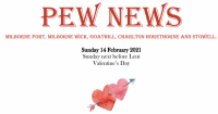 Pew News for 14 February 2021