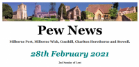 Pew News for 28 February 2021