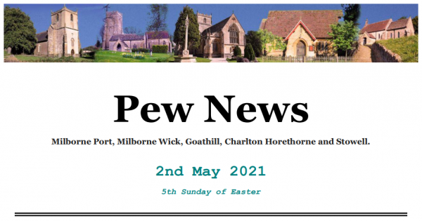 Pew News for 2 May 2021