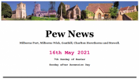 Pew News for 16 May 2021
