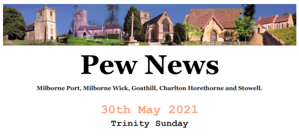 Pew News for 30 May 2021