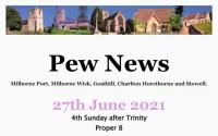 Pew News for 27 June 2021
