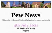 Pew News for 4 July 2021