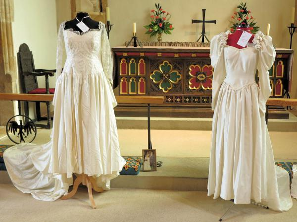 Wedding dresses 1970 &1983