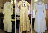 Wedding dresses 1952, 1957 & 1958