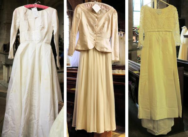 Wedding dresses 1962 to 1965