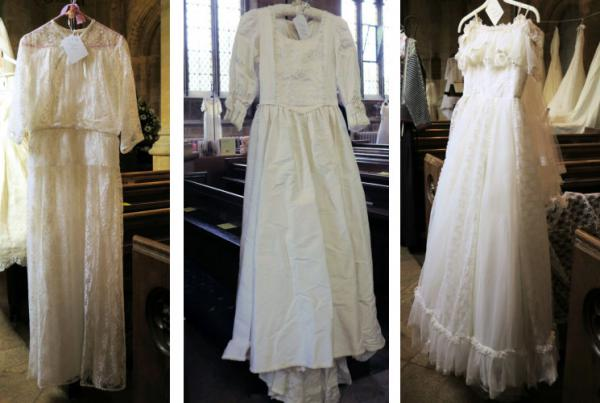 Wedding dresses 1975 to 1989