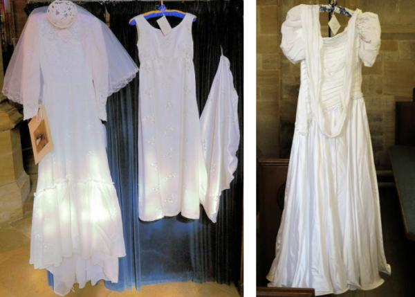 Wedding dresses 1970 to 1986