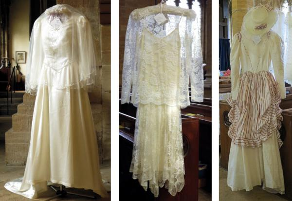 Wedding dresses 1987 to 1992